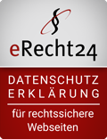 erecht24 siegel datenschutz - Pizzakartons bedruck - Webdesign by iDIA Marketing