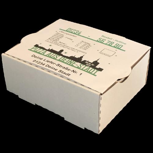 Food Boxen als Brötchen Box, Pommes Box, Chicken Nuggets Box oder Wrap Box